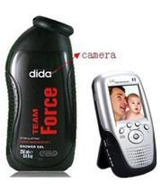 Wireless Men shower gel bathroom spy Camera